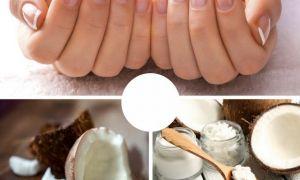 Кокосовое масло от грибка ногтей
